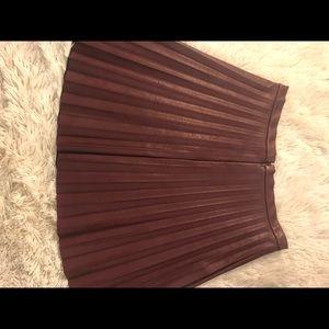 J crew maroon skirt